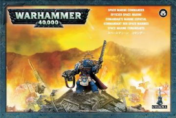 Games Workshop Warhammer 40000 40K Space Marine Commander 48-05
